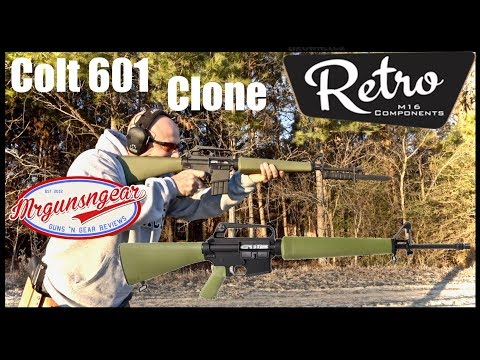 Brownells Retro Rifles: Colt Air Force Model 601 Clone Rifle Review