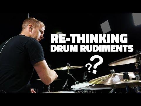 Re-Thinking Drum Rudiments (Drum Lesson)