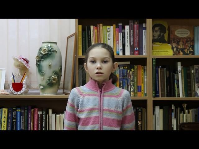 Изображение предпросмотра прочтения – ИринаБакирходжаева читает произведение «Стрекоза и Муравей» И.А.Крылова