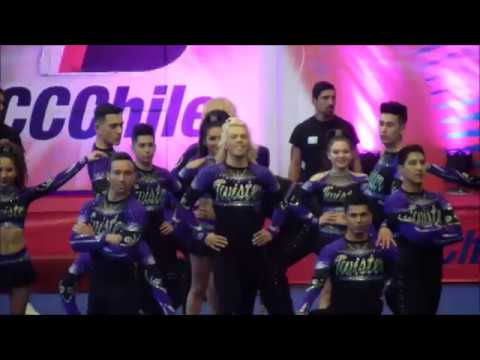 Twister Fame Black Divas CCCHILE 2017- National Champsx2