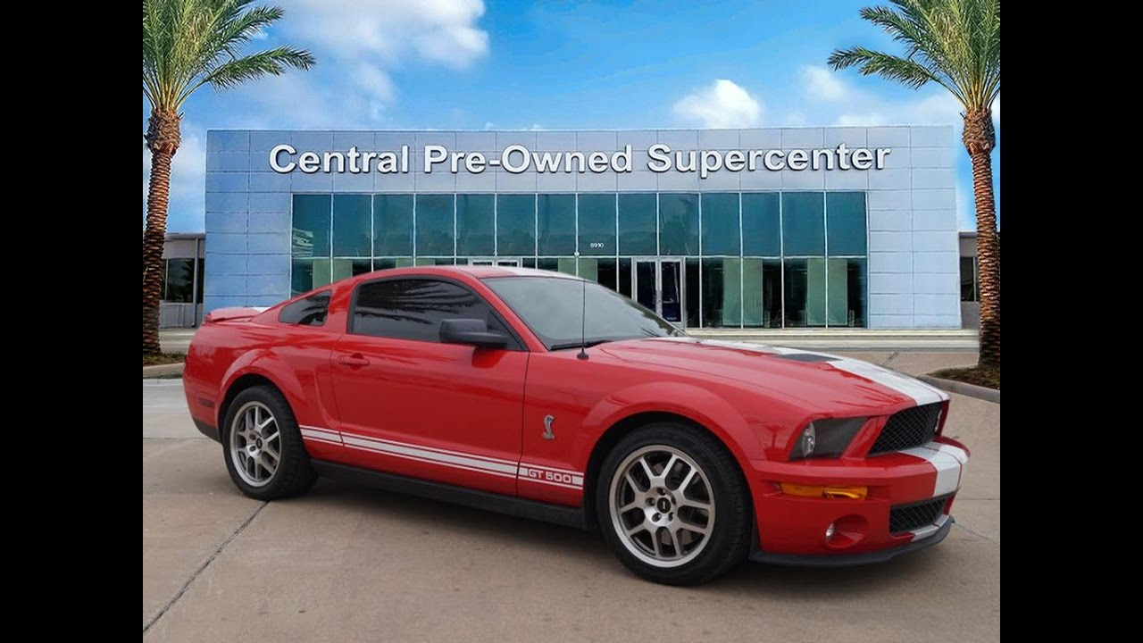 2009 Ford Shelby Gt500 Coupe For