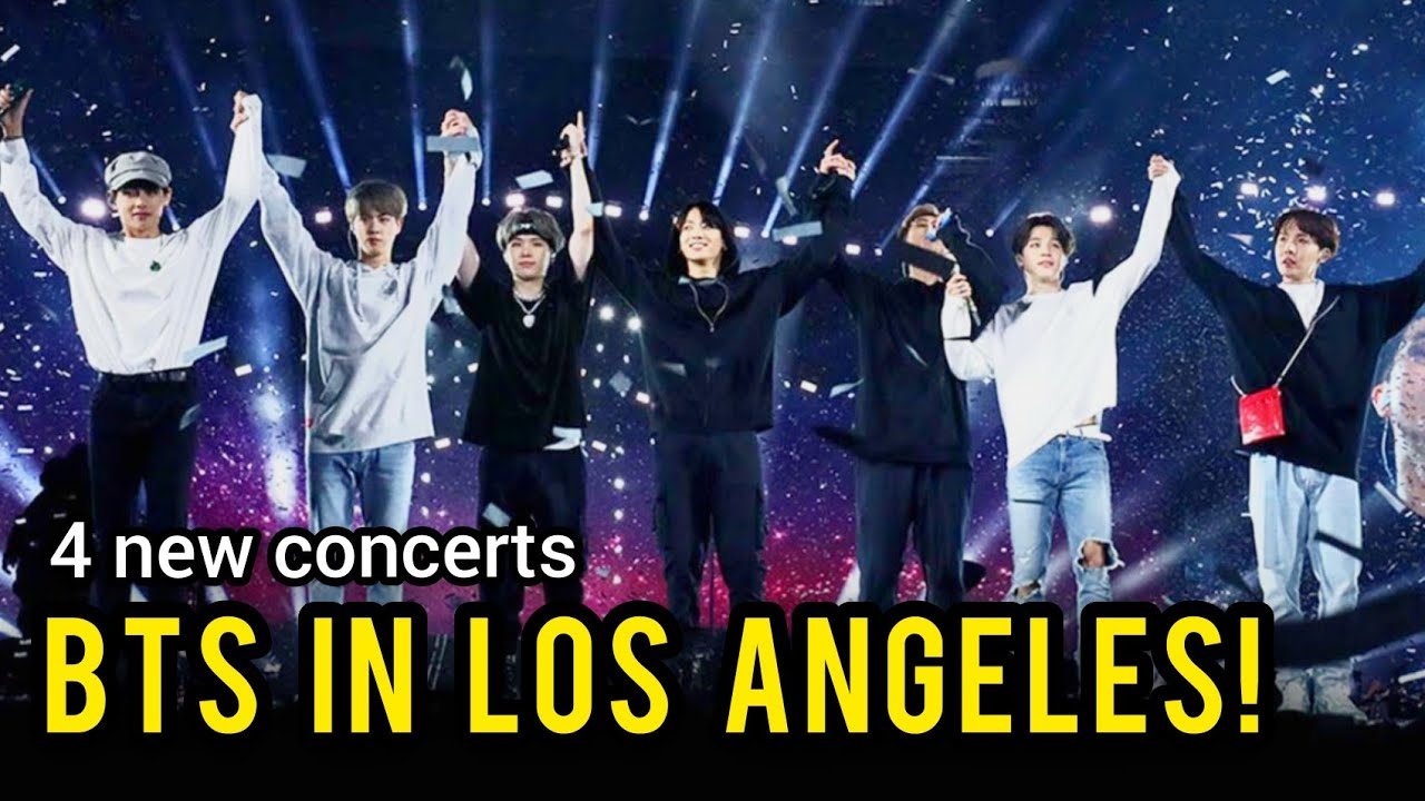 How to get tickets for BTS concerts at L.A.'s SoFi Stadium
