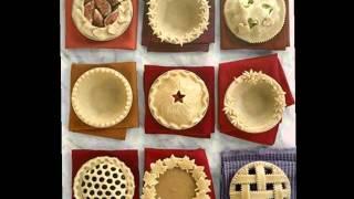 Как украсить пирог оригинальным способом.