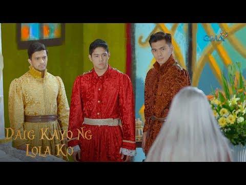 Daig Kayo Ng Lola Ko: The three princes of Berbanya