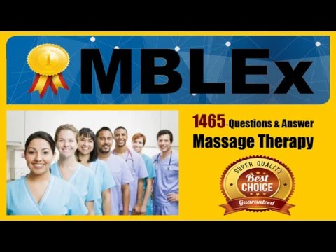 Massage therapy exam study (51-100 Of 1467 Questions)