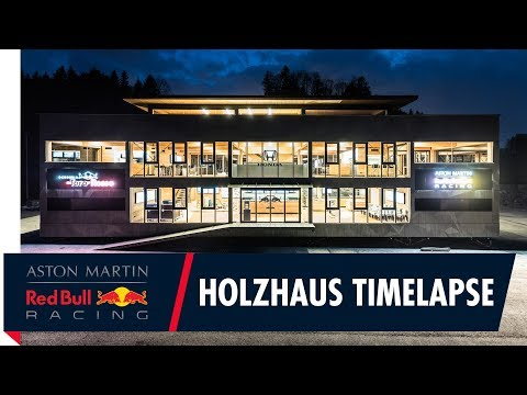 Red Bull F1 Energy Station Construction Timelapse | Our new home away from home!