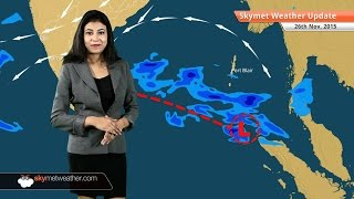 Weather Forecast for November 26: Rainfall in Tamil Nadu and Chennai reduces significantly