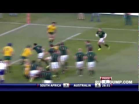 Springboks vs Wallabies highlights - Pretoria 2012 - Rugby Championship