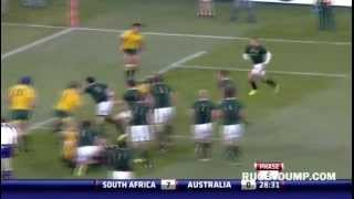 Springboks vs Wallabies highlights - Pretoria 2012 - Rugby Championship