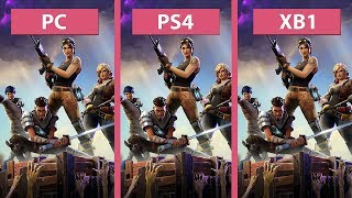 Fortnite PC vs. PS4 vs. Xbox One Frame Rate Test Graphics Comparison Early Access