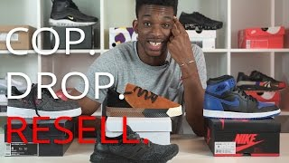 double drop cop drop resell ep 5 af1 aw skate jordan 1 royal wildcard