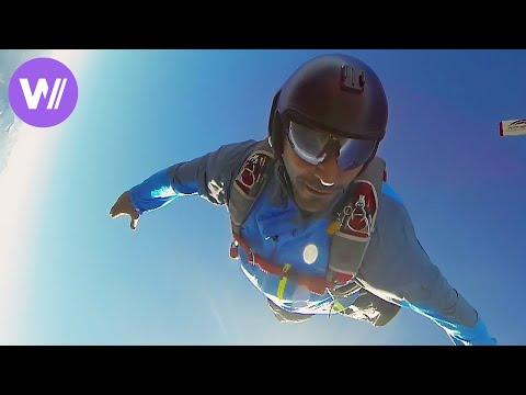 Base Jump  Le Premier Saut de Tomer Sisley  Sans Doublure HD 1080p