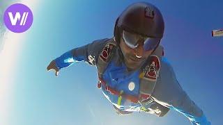 Base Jump - Le Premier Saut de Tomer Sisley | Sans Doublure (HD 1080p)