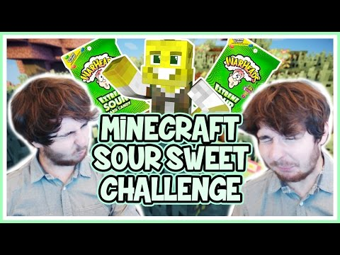 Minecraft Sour Sweet Challenge!