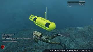 Underwater treasure hunting