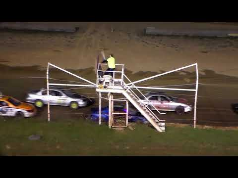 Dog Hollow Speedway - 10/21/17 Four Cylinder Feature Race