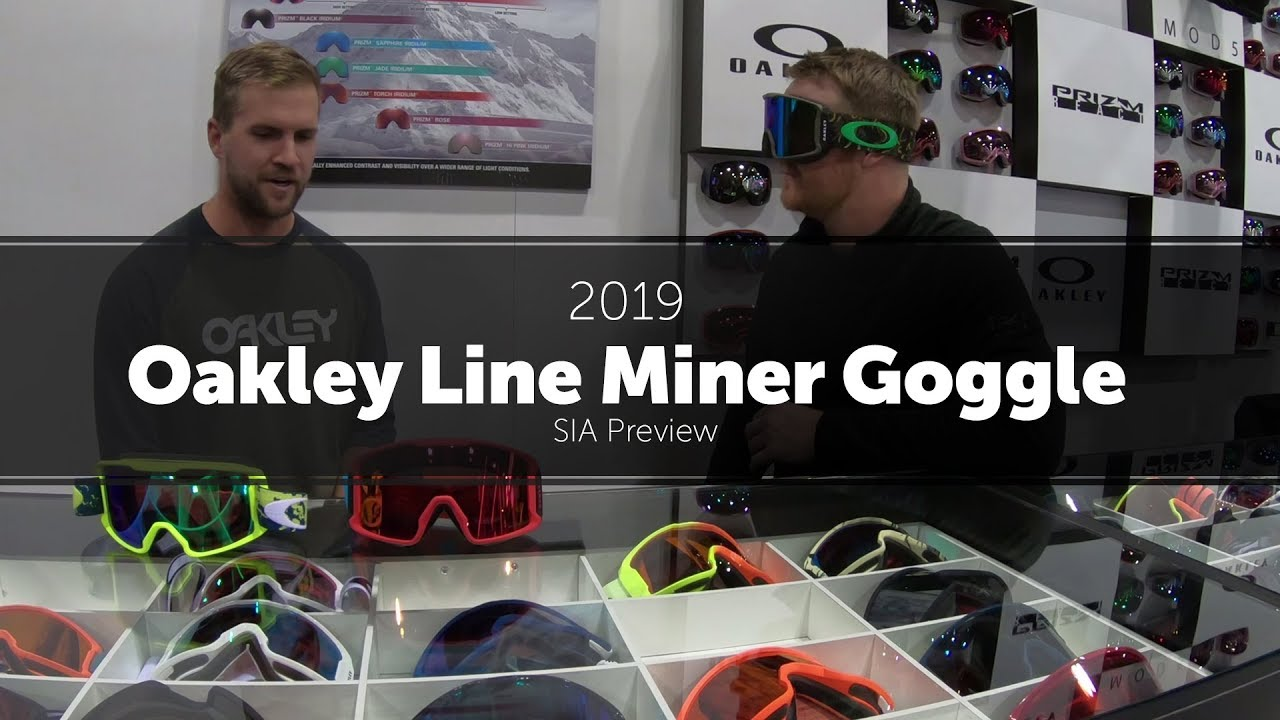 d37f7181d0fe 2019 Oakley Line Miner Goggle  Preview - YouTube
