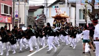 2014 和泉府中だんじり祭り 小社之町特集 やりまわし・ダッシュ・大連合
