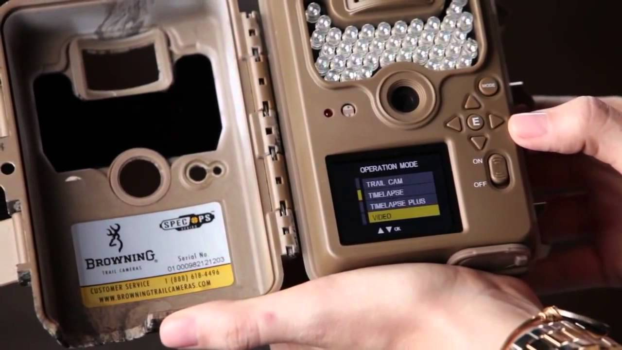 Browning Trail Cameras Basic Set up for your Spec Ops - YouTube