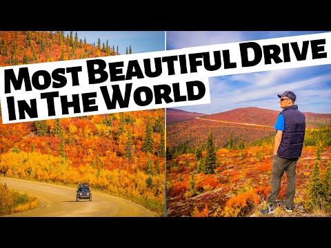 TOP OF THE WORLD HIGHWAY - Yukon Road Trip Into Alaska and Kluane