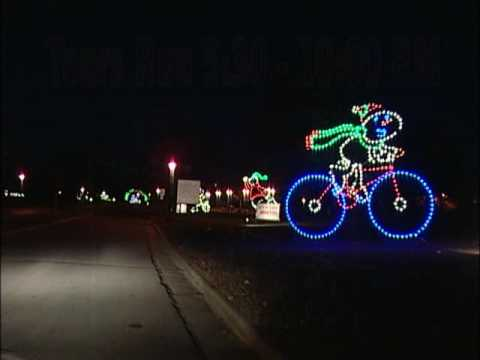 Holiday Lights at Phalen Park - YouTube