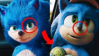 Sonic Nuevo vs Viejo - Comparativa ¿ Que ha cambiado ? Sonic La Película