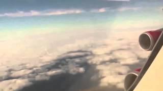 Un OVNI capturado desde un avión sobre Liverpool 1