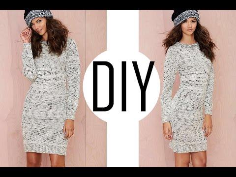 619418f086f3 OOTD FT DIY FALL ESSENTIAL   SWEATER DRESS - YouTube