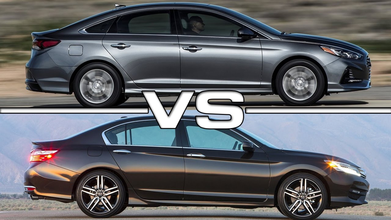 2018 Hyundai Sonata Vs 2017 Honda Accord