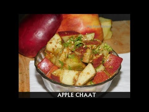 Apple Chaat | Healthy,Quick & Easy Snack Recipe|Cooking Without Fire Recipe|Weight Loss Recipe