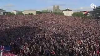 Island nach der Niederlage gegen Frankreich