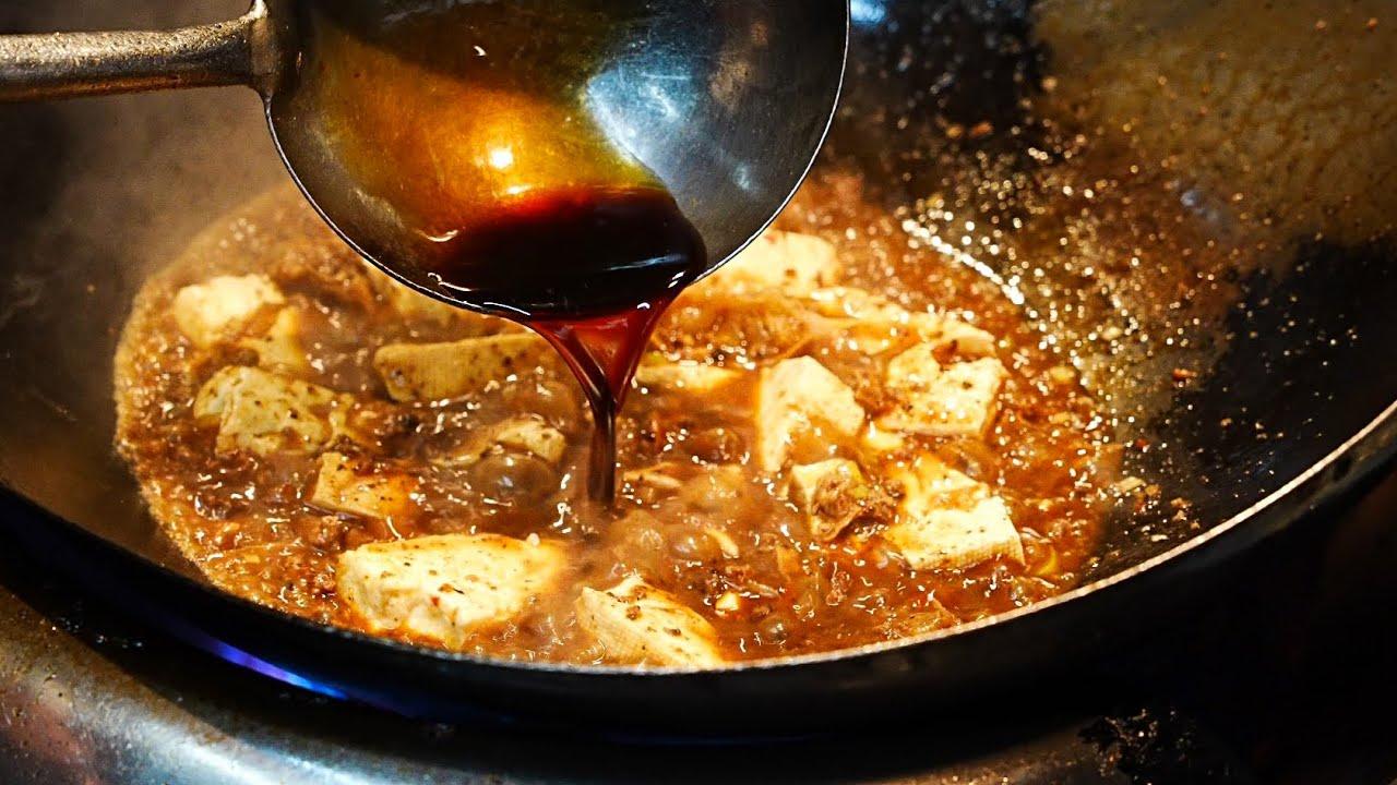 【天満】バリウマ麻婆豆腐と五目ヤキメシの作り方「黒龍天神樓」Eat the most delicious mapo tofu and fried rice in Osaka June 16, 2021