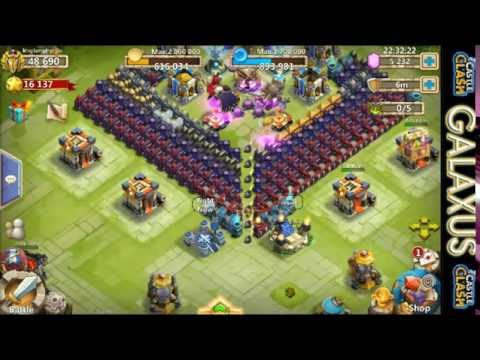 Castle Clash-(Epic)Rolling 15k Gems For Talents And Heroes Plus Lucky Flip'n/Treasure Chest For King