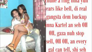 Vybz Kartel (World Boss) - The Lyricist PT2 (LYRICS ON SCREEN) 2011 dancehall music.