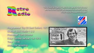 BBC Radio 1 - Top 20 Show - Tom Browne - 01 Jan 1978