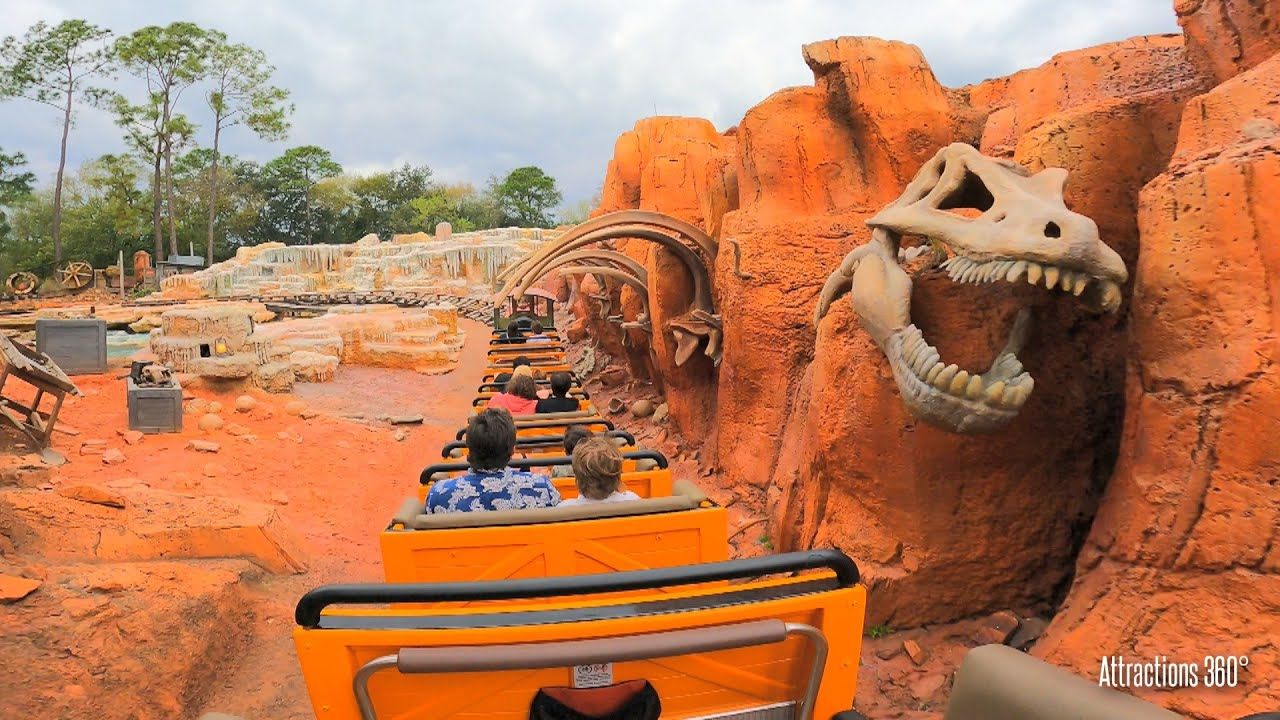 Some of the many twisting turns. Magic Kingdom Big Thunder Mountain Ride Walt Disney World 2021 Youtube