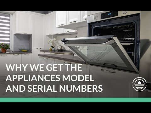 Why We Get the Appliance Model and Serial Numbers