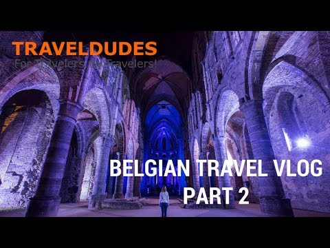 Waterloo Belgium, the Folon Foundation and Nivelles Travel Vlog!!