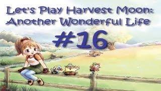 Let's Play Harvest Moon: Another Wonderful Life Part 16 - Yams!