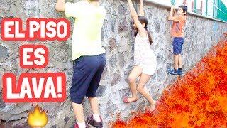EL SUELO  ES LAVA CHALLENGE / THE FLOOR IS LAVA - Gibby :)