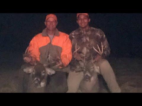 2 Big Bucks Down In Nebraska - Deer Season 2019
