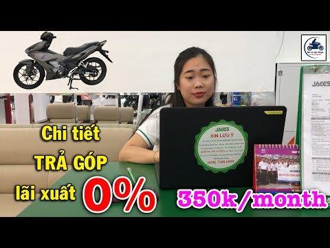 Chi Tiết Mua Winner X 2020 Trả Góp Lãi Suất 0% Và Trả 350k Mỗi Tháng 🔴 GIÁ XE MÁY VLOGS