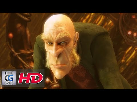 "CGI 3D Animated Short: ""Elephant""s Dream"" - by Project Orange"