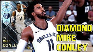 DIAMOND MIKE CONLEY 46PT GAMEPLAY! THE BEST BUDGET DUO MAKES 2 DIAMONDS! NBA 2k18 MyTEAM