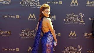 Courtney Hope 2017 Daytime Emmy Awards Red Carpet