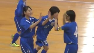 第5回全日本女子ユース(U-15)フットサル大会 グループCハイライトi