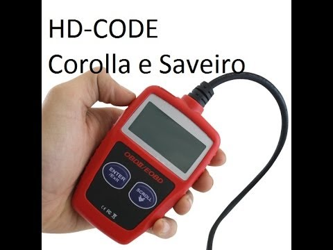 Scaner HD-code novo nao funciona no corolla e na saveiro