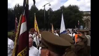 Somme centenary parade Glasgow 06/08/2016