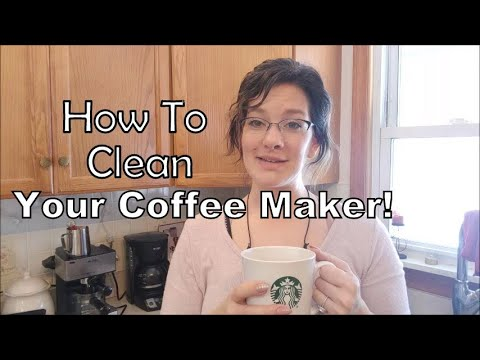 How To Clean Your Coffee Maker - Espresso Maker and Auto Drip