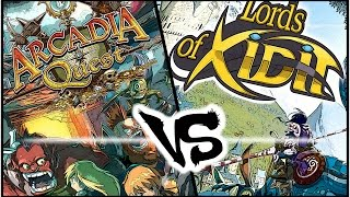 The Rolling Gamers [Boardgame Crossover]--[Arcadia Quest/Lords of Xidit] #1